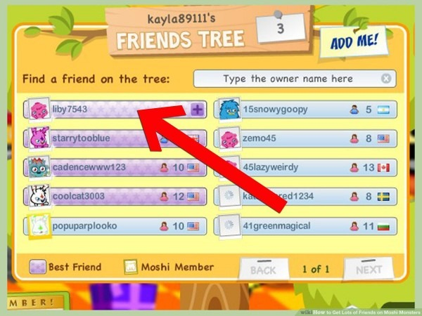 How To Get Lots Of Friends On Moshi Monsters  6 Steps