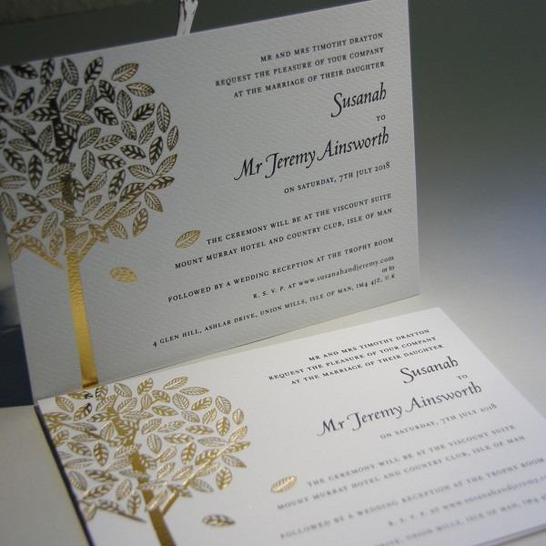 Arden Personalised Wedding Invitations