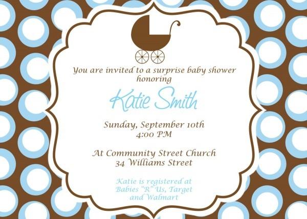 Baby Boy Baby Shower Invitation Custom Printable By Cohenlane 4