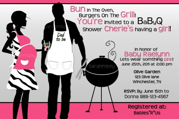 Bbq Baby Shower Invitations Bbq Baby Shower Invitations By Setting