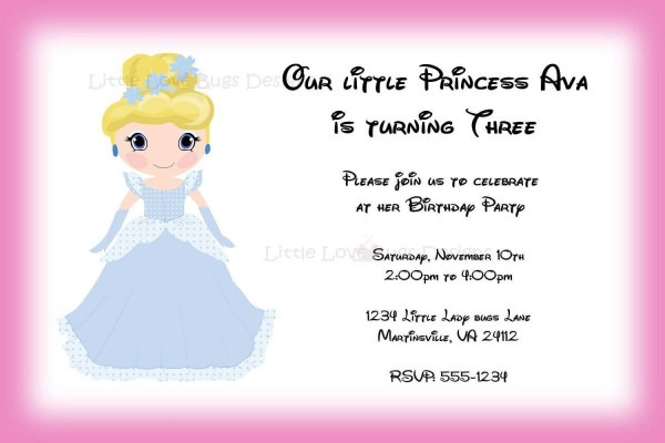 Free Barbie Invitation Templates Creating Party Invitations Physic