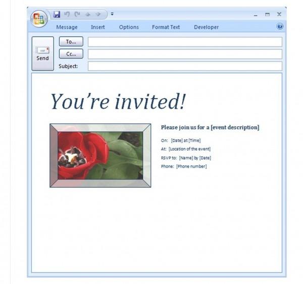 Electronic Retirement Invitations