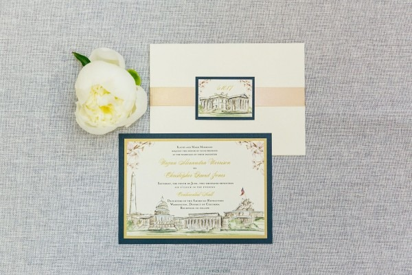 Wedding Invitations Suites And Stationery Sets For Real Dc And