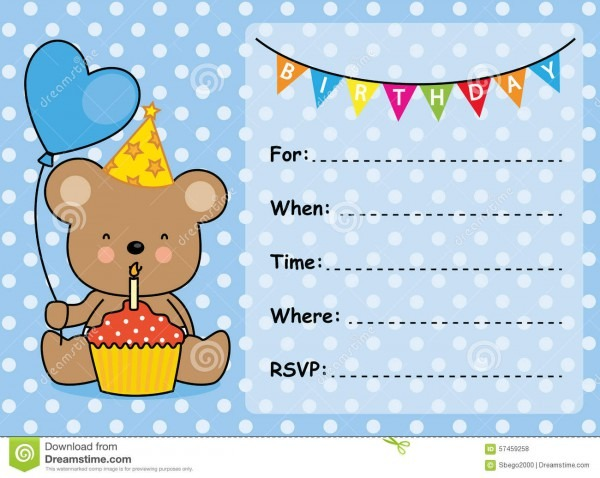 Birthday Invitation Card Maker — Birthday Invitation Examples