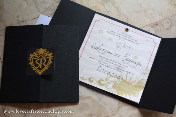 Black And Gold Debut Invitation From 3 And Get Inspiration To
