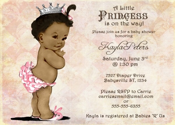 Black Baby Shower Invitation From Kinderhooktap For A Chic Baby