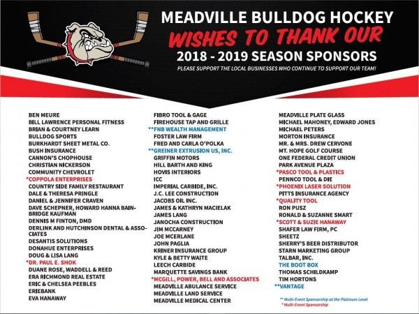 Meadville Bulldog Hockey