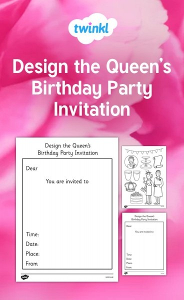 Design A Party Invitation Fit For The Queen!