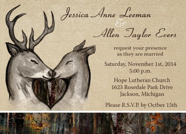 Realtree Wedding Invitations