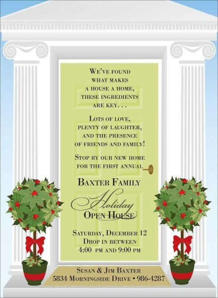 Christmas Party Invitations Year End Invitation Wording House
