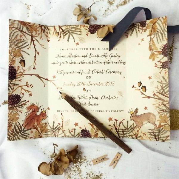 36 Wonderful Woodland Wedding Ideas