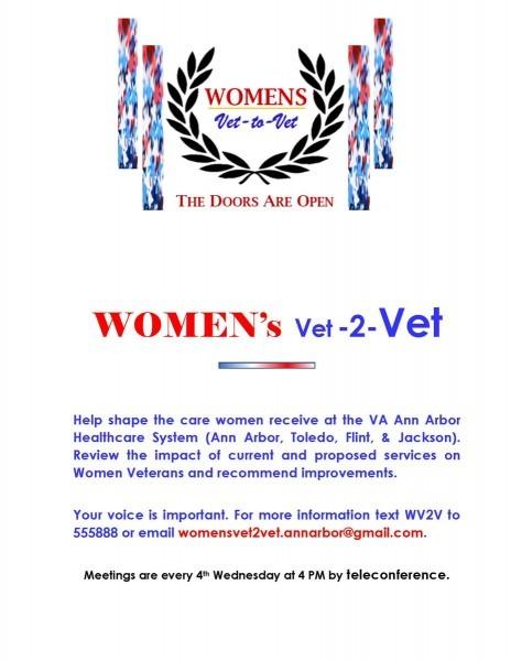 Va Ann Arbor On Twitter   Women Veterans Are Invited To