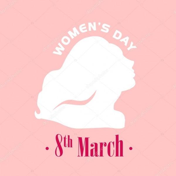 Vector Women's Day Card Template  — Stock Vector © Artflare  98768790