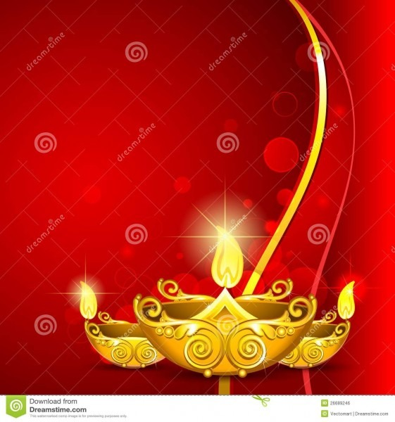 Diwali Invitation Card Template