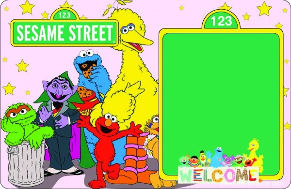 Download Now Free Printable Sesame Street Birthday Invitation
