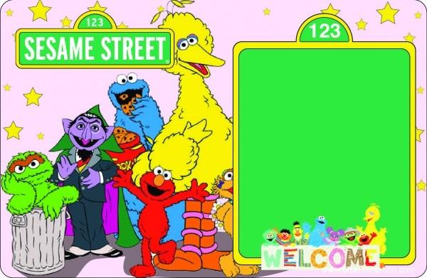 Download Now Free Printable Sesame Street Birthday Invitation