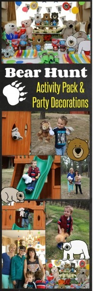 40 Pages Free We're Going On A Bear Hunt Activity Pack And Bear