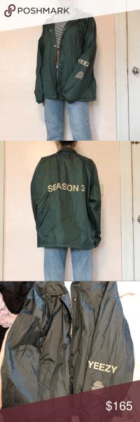 Yeezy Season 3 Invitation Jacket Unisex Yeezy Season 3 Authentic