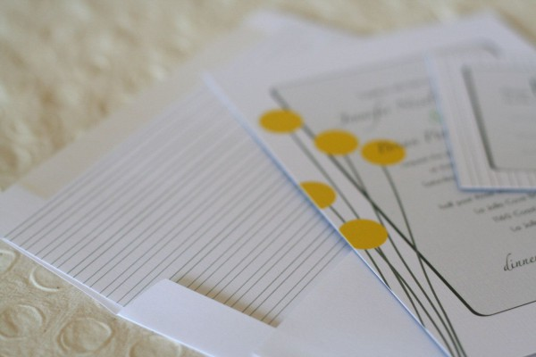 Wedding Invitation  Modern Billy Balls & Succulent  $5 00, Via