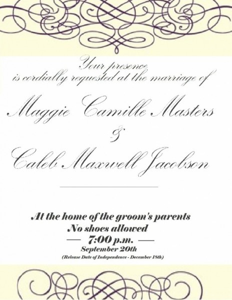 You Are Cordially Invited Template