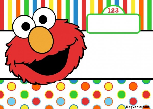 Elmo Birthday Invitations From Trumptwitter And Get Inspired To