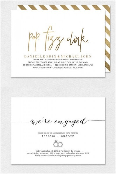 22 Engagement Party Invitations You'll Want To 'say Yes' To!