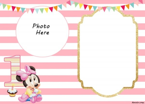 Minnie Mouse Printable Birthday Invitations — Birthday Invitation