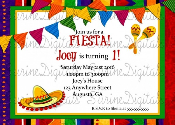 Best Of Birthday Party Invitations In Spanish Awesome 45 Unique