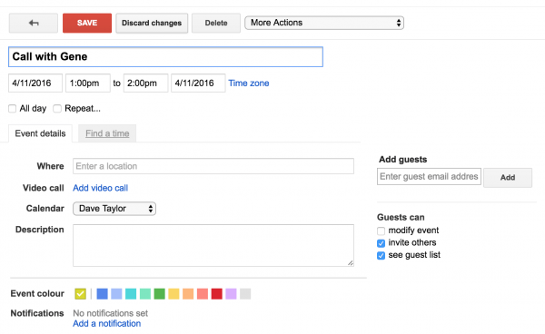 Invite Someone To A Meeting In Google Calendar