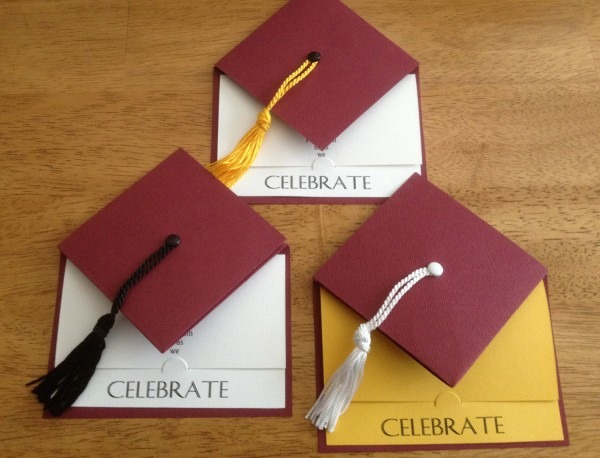 Graduation Cap Invitations