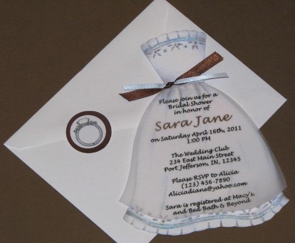 Wedding Invitation Ideas  Wedding Shower Invitations Wording