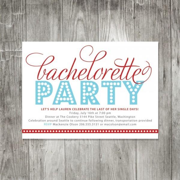 Funny Bachelorette Party Invitation Wording
