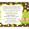 Free Two Peas In A Pod Baby Shower Invitations