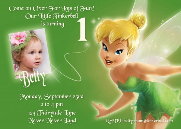 97+ Tinkerbell Birthday Invites Free Printable