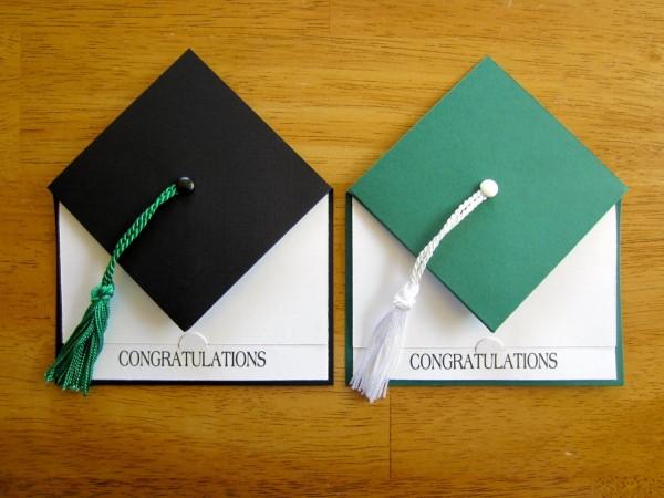 Graduation Party Invitation School Colors Graduation Cap