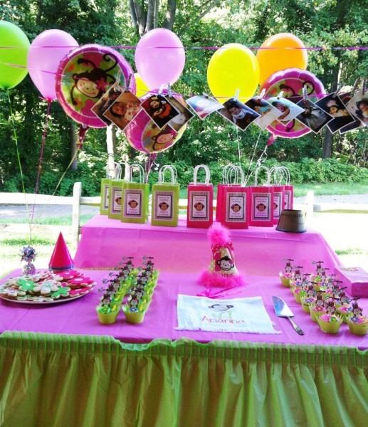 Arianna's Monkey Love 1st Birthday Party – Kids Birthday Parties