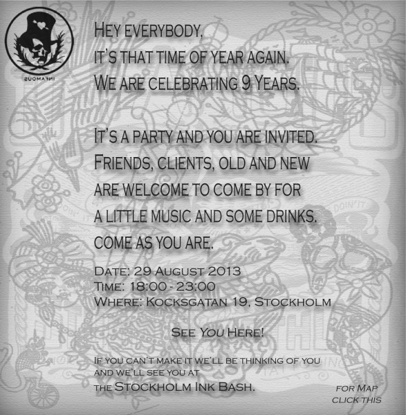 Celebrating 9 Years  Its A Party And You Are Invited!