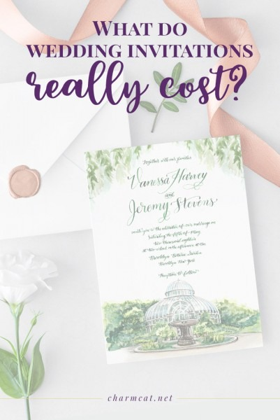 What Do Wedding Invitations Really Cost  6 Factors That Affect