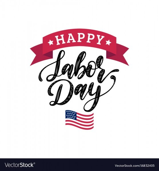 Labor Day Greeting Or Invitation Card Royalty Free Vector