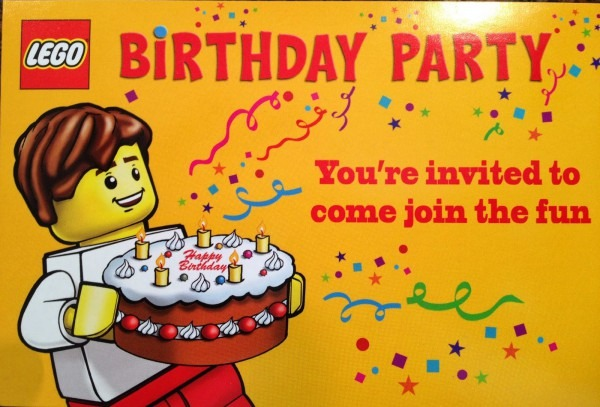 Lego Party Invitations Lego Party Invitations A Beauty Party