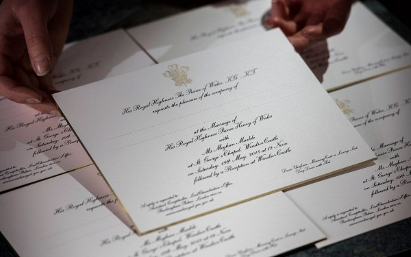 Beautiful Les Invites Au Mariage Du Prince Harry