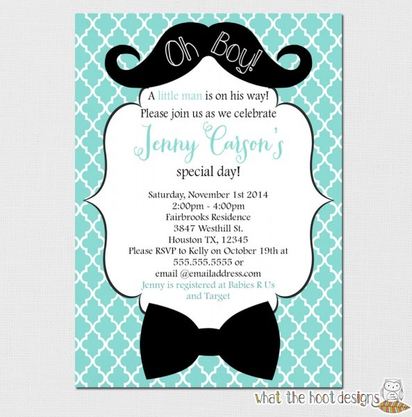 Baby Shower  Mustache And Bow Tie Baby Shower  Bow Tie Baby Shower
