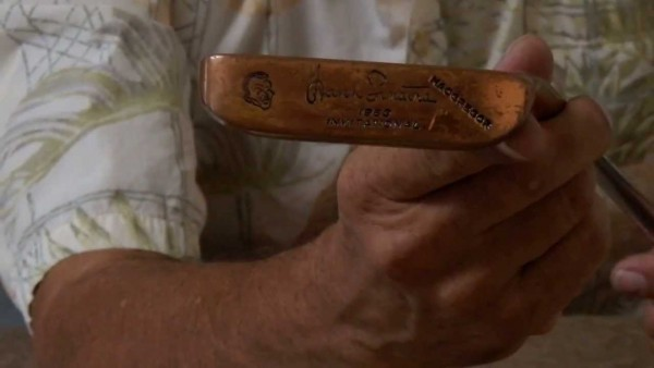 1963 Frank Sinatra Invitational Golf Tournament Putter By
