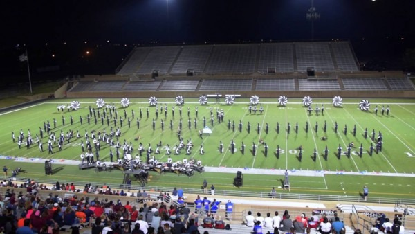 Wakeland Band Finals Of Plano East Marching Invitational