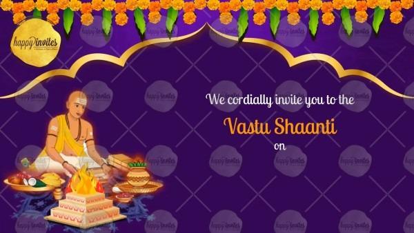 Griha Pravesh Housewarming Invitation Card