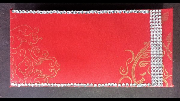 Best Out Of Waste! Make Shagun Card From Old Invitation Cards