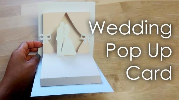 Tutorial + Template] Diy Wedding Project Pop Up Card