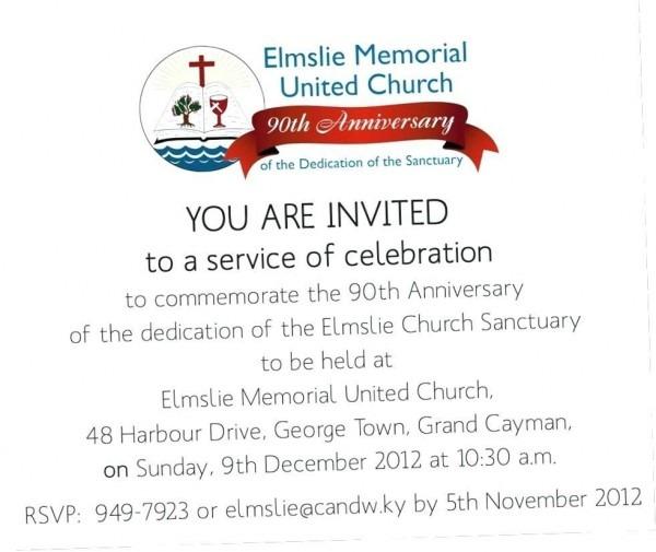 Sample Invitation Letter For Church Anniversary Celebration