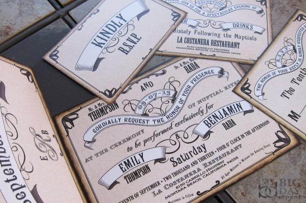 Nostalgic Nuptials Wedding Invitation Set On Storenvy
