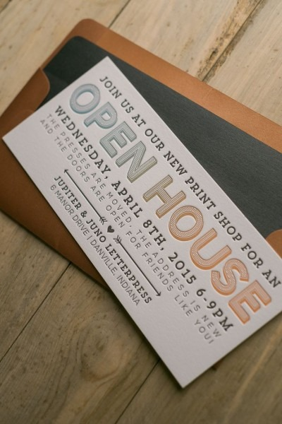 Open House New Year Invitation – Festival Collections